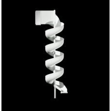 FSS20 Firemans Aluminum Slide Chute for 20 foot Deck Height