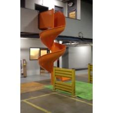 LMA11 Aluminum Spiral Slide Chute for 11 foot Deck Height