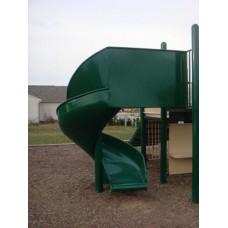 L651 Aluminum Spiral Slide Chute for 5 foot Deck Height