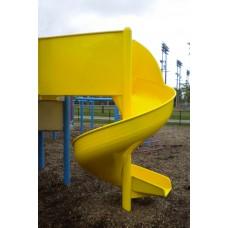 L701 Aluminum Spiral Slide Chute for 6 foot Deck Height