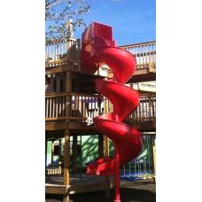LMA12 Aluminum Spiral Slide Chute for 12 foot Deck Height