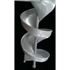 LMA13 Aluminum Spiral Slide Chute for 13 foot Deck Height