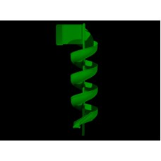LMA17 Aluminum Spiral Slide Chute for 17 foot Deck Height