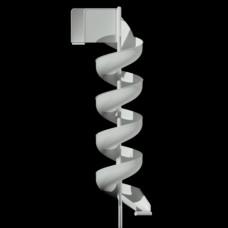 LMA20 Aluminum Spiral Slide Chute for 20 foot Deck Height