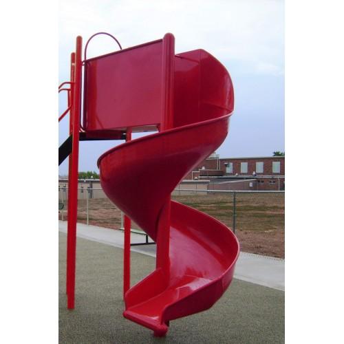 Lma8 Aluminum Spiral Slide Chute For 8 Foot Deck Height