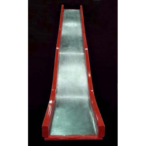 D816c Straight Slide Wave For 8 Foot Deck Height Stainless Steel