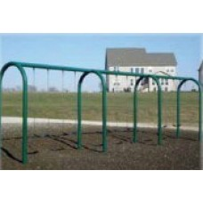 8 foot High Top Beam Arched Swing 3 Bay